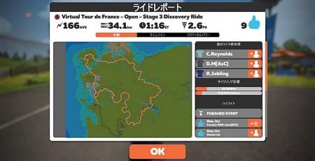 Virtual-tour-de-france-open-stage-3-disc